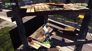 Goat Simulator - Pedestrian & LOEK Master & Trying to bring forth Sanctum 3? Trophy Guide