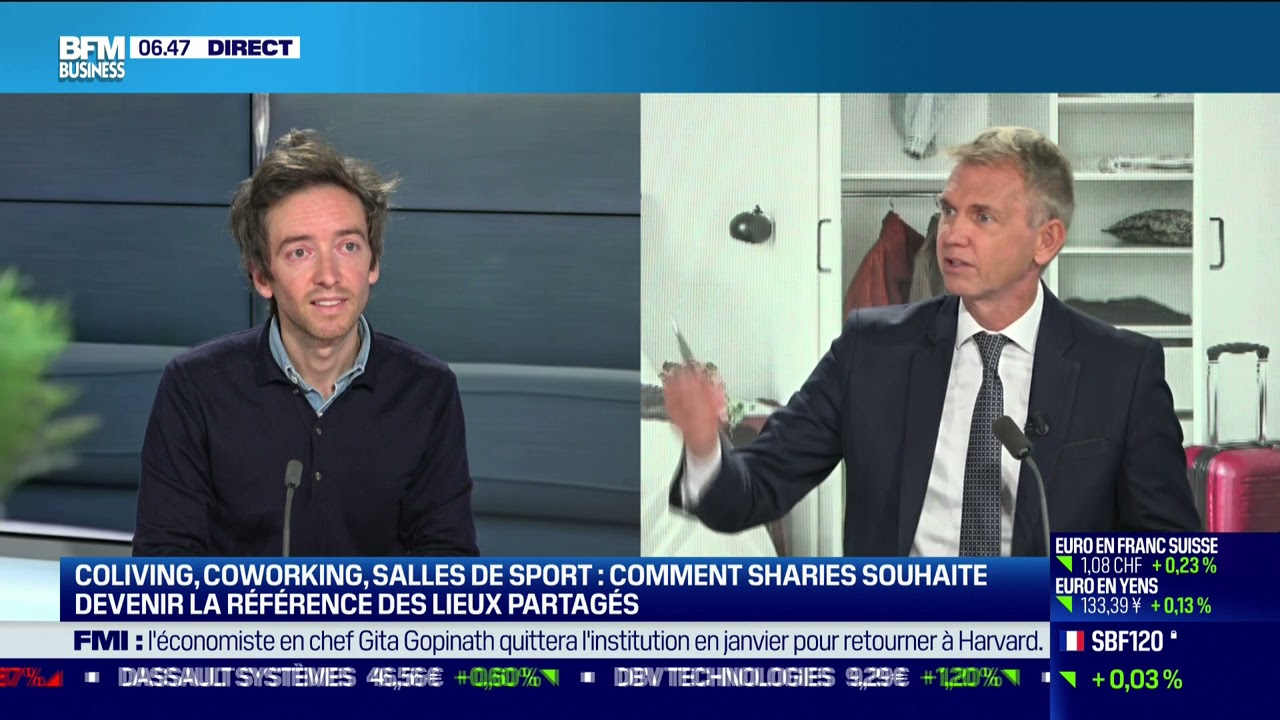 Julien Morville (Sharies) : Sharies souhaite devenir la référence des lieux partagés