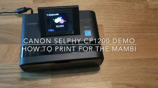 How To Print Happy Planner Size Pictures On The Canon Selphy
