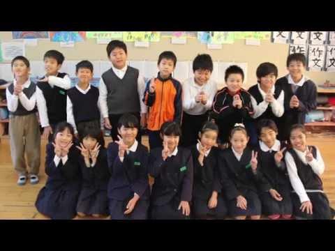 『天主閣』20151119松山市立坂本小学校4年生