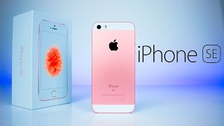 iPhone SE - Unboxing & First Impressions!