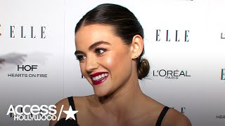 Lucy Hale: 'It Hasn't Really Sunk In' That 'PLL' Is Ending | Access Hollywood