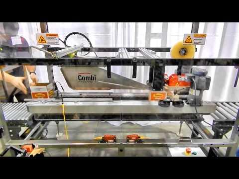 Selladora de cajas de alta velocidad TBS-100FC HS a una velocidad de 40 CPM