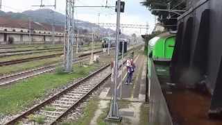 preview picture of video 'Porte aperte a Luino: corsette con la Br50 3673'