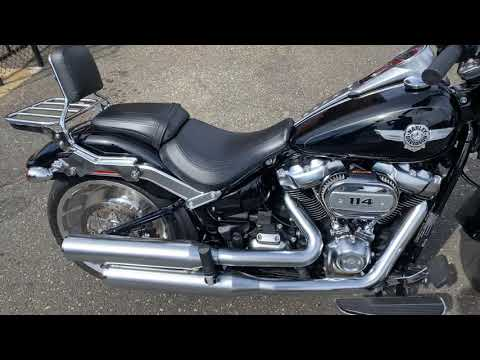 2020 Harley-Davidson Fat Boy® 114 in Massapequa, New York - Video 1