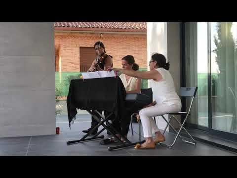 Bandas sonoras violín y piano