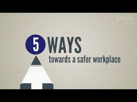 Five ways to make your workplace safer