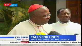 Religious Clerics urge both President Uhuru Kenyatta and NASA leader Raila Odinga to dialogue
