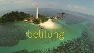 Lengkuas Island, Belitung - Indonesia [Aerial Cinematography] - BW Version