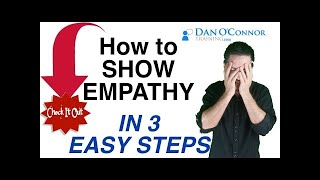 Effective Communication Skills Training Video: How to Show Empathy in 3 Easy Steps