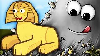 Tasty Planet ГОЛОДНЫЙ СЛИЗЕНЬ БОБ В ЕГИПТЕ Мультик игра для детей СЪЕДОБНАЯ ПЛАНЕТА