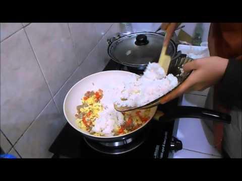Video Nasi Goreng Spesial PELANGI - Ala Chef Farah Utoyo - Enaknya Maknyusss..!