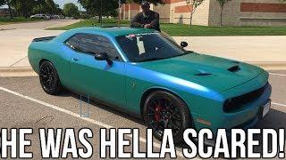 My Boss Finally Drives My Hellcat!! He Was Terrified Again  ♂️