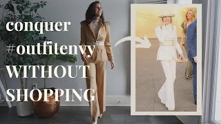 BONUS Shop Your Closet: Diane Keaton & Emmanuelle Alt Style | NEW Outfits Out Of OLD Clothes | AD