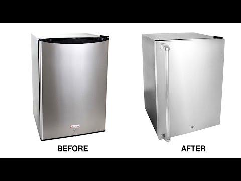 Blaze 4.5 Cu Ft. - Installing Stainless Steel Door Sleeve