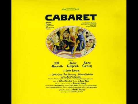 Cabaret - So What - Track 2 (Original Broadway Cast)