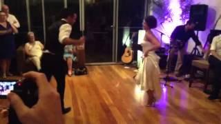 Zoe and Troy's wedding dance