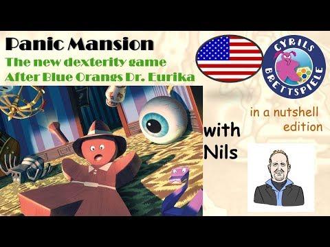 Shaky Manor - PANIC!!! - Cyrils Brettspiele in a nutshell (N122)