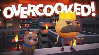 Overcooked Gameplay - Co-op Cooking Adventure! - Let's Play Overcooked Part 1
