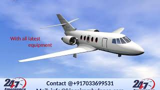 Get Classy Emergency Air Ambulance Services in Raipur and Gorakhpur by King