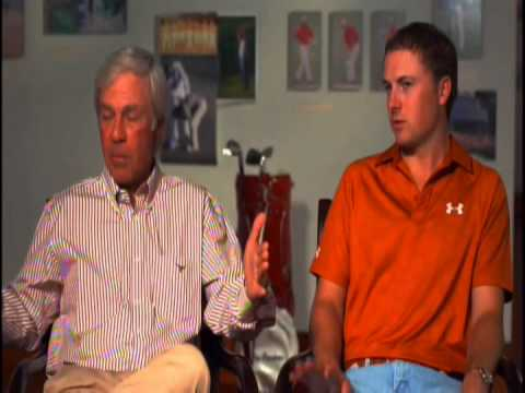Jordan Spieth and Ben Crenshaw interview before 2014 Masters