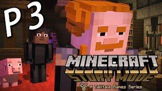 Minecraft Story Mode Chapter 3《我的世界故事模式》第三章 P3 : SOREN
