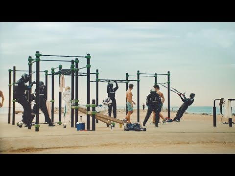 F1 Summer Break, Day 12: Beach Workout