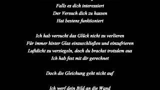 Christina Stürmer   Scherbenmeer lyrics
