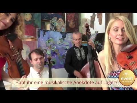 Anekdoten aus dem Musikerleben - Streichquartett Blue Velvet I Künstler der Woche