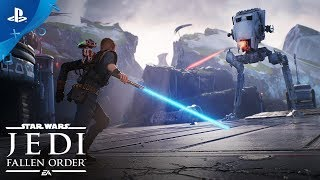 Star Wars Jedi: Fallen Order   E3 2019 Trailer | PS4