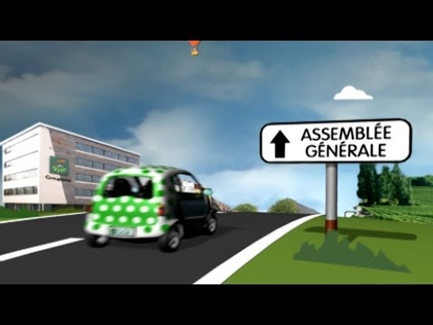 Groupama : une AG 2009 Version 3D «fun»