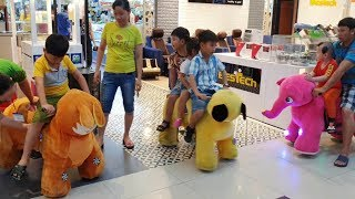 Trò Chơi Bé Đi Siêu Thị Khu Vui Chơi Lễ Giáng Sinh ❤ ChiChi Kids TV ❤ Đồ Chơi Trẻ Em Kid Song