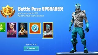 Season 9 Fortnite Battle Pass Skins