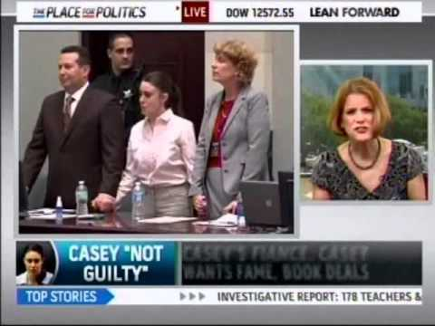 Meg Strickler on MSNBC discussing Casey Anthony verdict and release from jail July 6, 2011