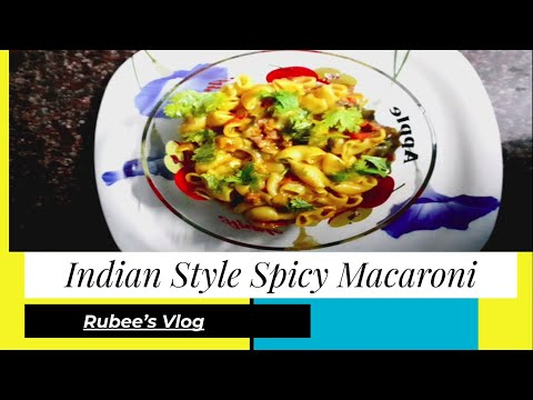 Indian Style Spicy Macaroni with Mutton   Yummy Spicy Pasta   Cooking Recipe in Tamil