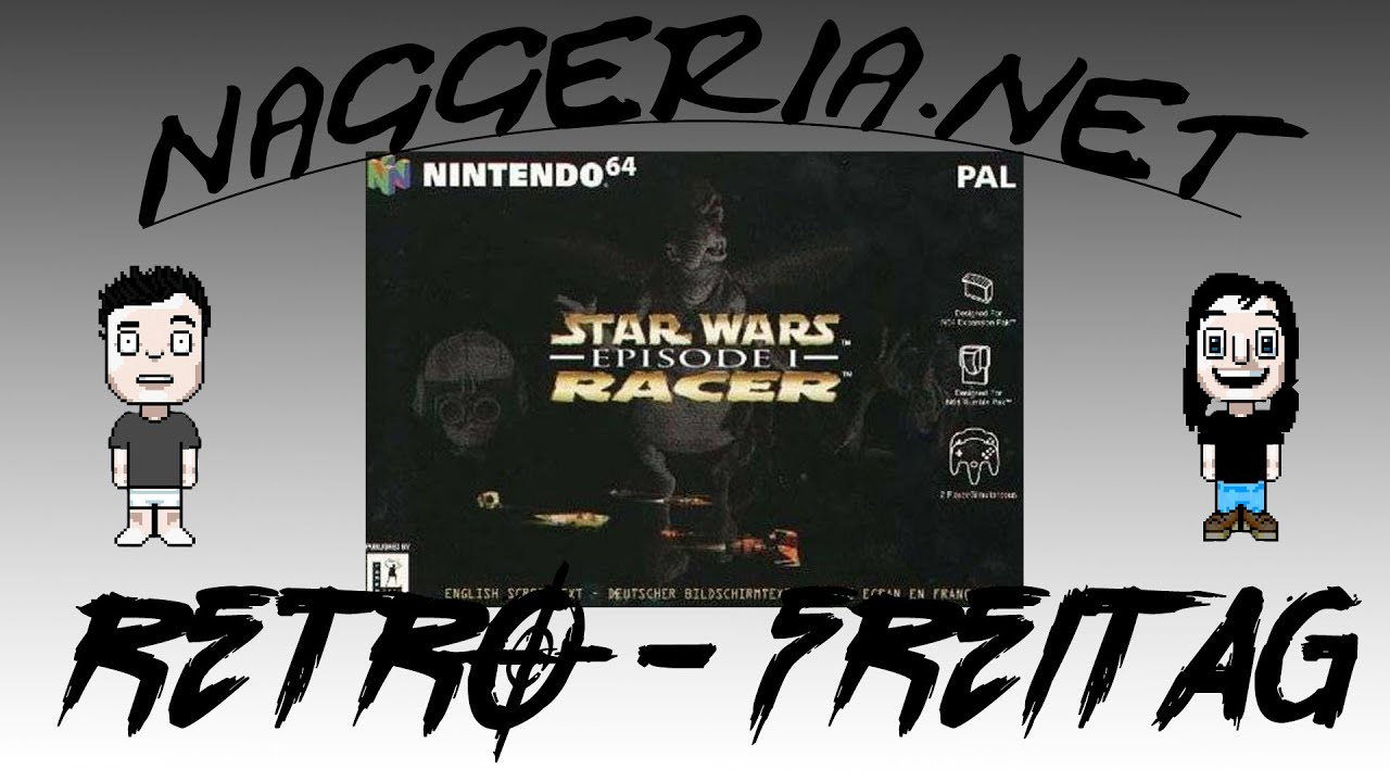 [Retro-Freitag] Star Wars Episode 1 Racer (Nintendo 64)