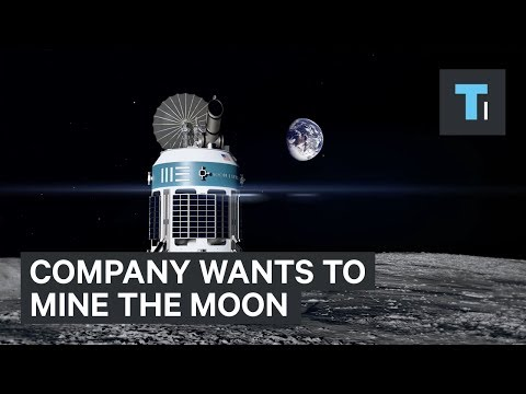 This company wants to mine the Moon using robots — and they could be doing it within three years