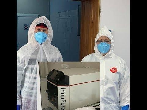 A doua linie de testare Real Time PCR, la Spitalul Județean de Urgență Ploiești