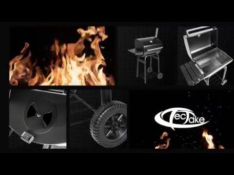 tectake - BBQ Barbecue au charbon de bois