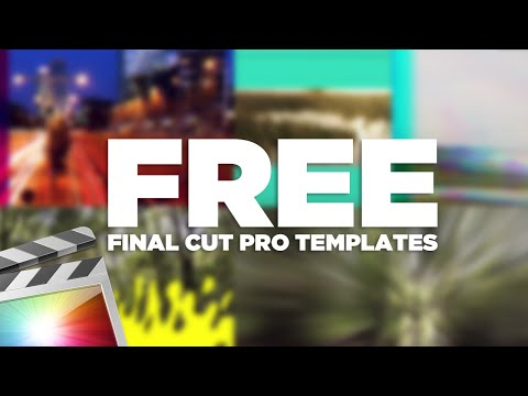 FREE Final Cut Pro X Templates, Title Effects, Transitions and MORE!!!