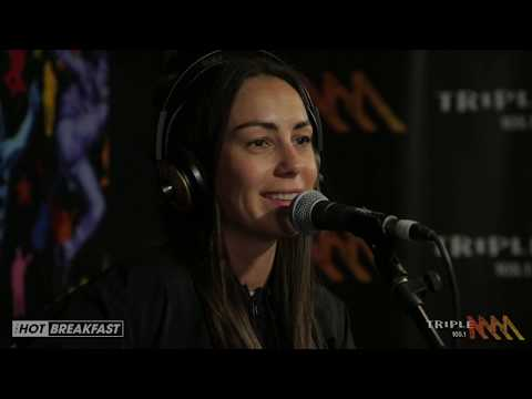 Amy Shark - All Loved Up | Live From Eddie's Desk! | The Hot Breakfast