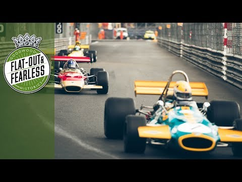 Monaco Historic '66-'71 F1 race highlights 2018