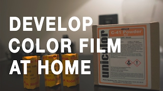 How To Develop Color Film At Home