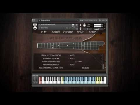 Video for Evolution Mandolin - Factory Preset Walkthrough