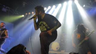 36 Crazyfists - Whitewater, Live @ Backstage Munich 22.2.2015
