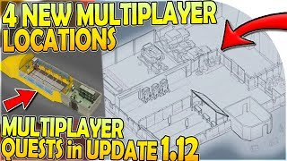 4 NEW MULTIPLAYER LOCATIONS + QUESTS - WAREHOUSE in UPDATE 1.12 - Last Day on Earth Survival 1.11.5