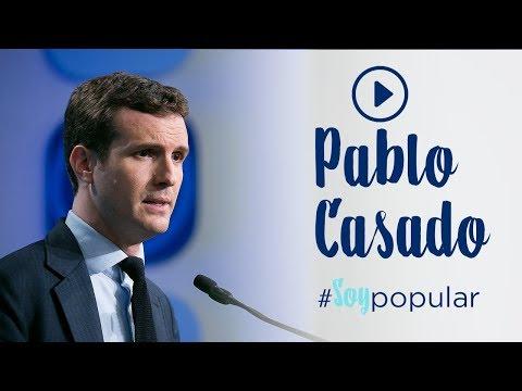 Pablo Casado se une a la campaña #SoyPopular