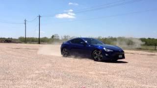 Scion FRS Stunt Driving