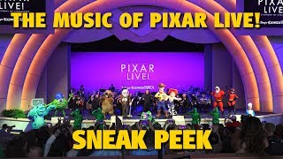 The Music of Pixar LIVE! Sneak Peek | Walt Disney World