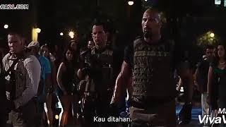 Vin Diesel Vs The Rock - Fast Five (fight scene) Sub Indo